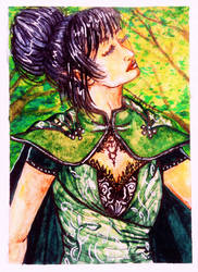 ACEO-Enjoying the sun by atorife