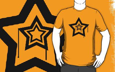 Drip Star - Black. by BlameEmma