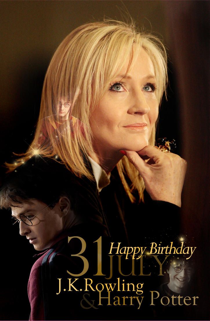 Happy Birthday Joanne Rowling and Harry Potter by ProfBell