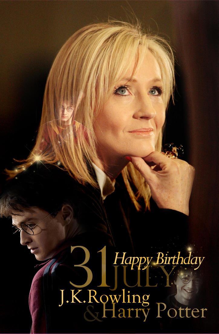 Happy Potter Birthday Cake Scene