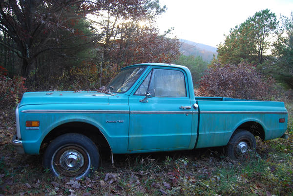 Blue Truck by Bleed-Stock