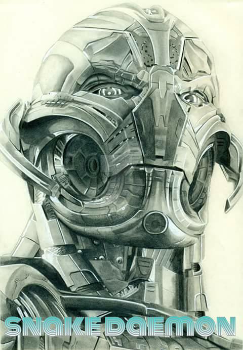 Ultron by snakedaemon
