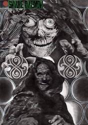 a Man Beyond Death by snakedaemon