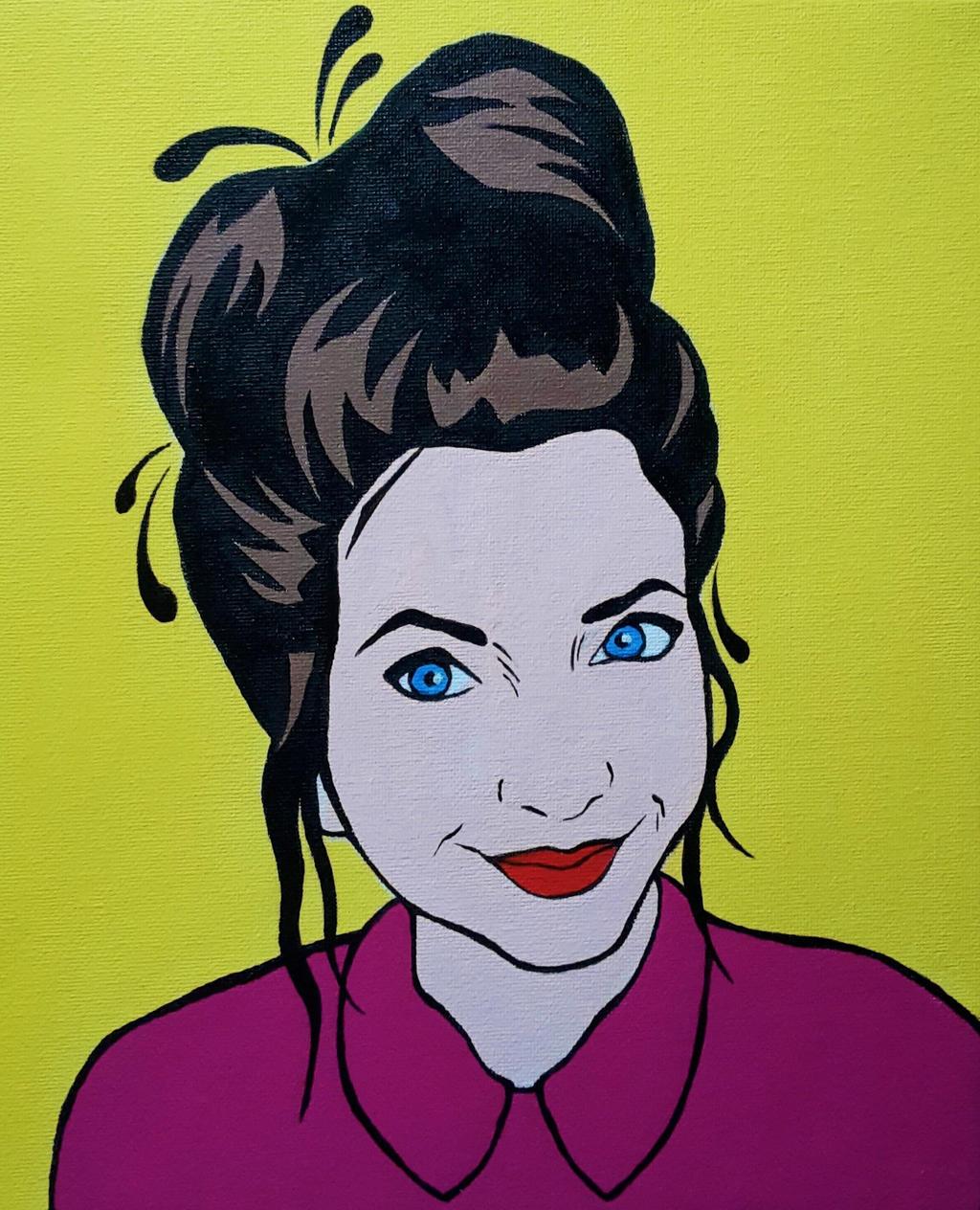 Zoealla POP ART By Olilolly11