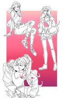 My Lesbians :v by fan-Arter