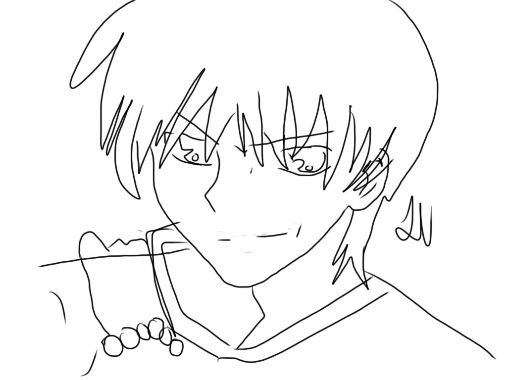kyo coloring pages - photo#10
