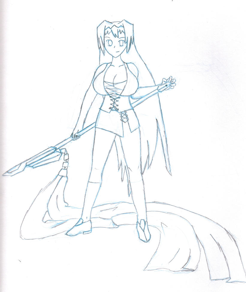Ayami's Weapon Cresent Sea by knightShadowX