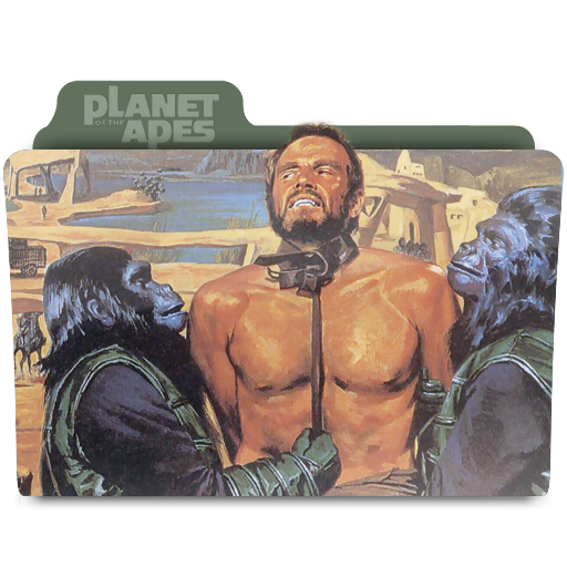 Planet of the Apes 1968 folder