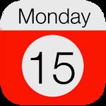 iOS 7 Calender icon