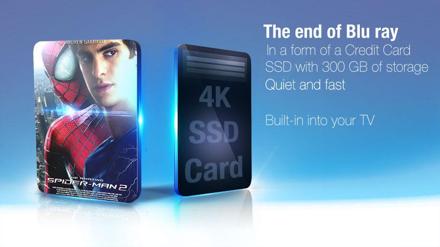 Concept - Blu Ray 4k SSD Card by janosch500
