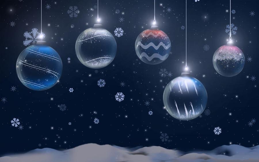 Christmas - Bulbs by janosch500