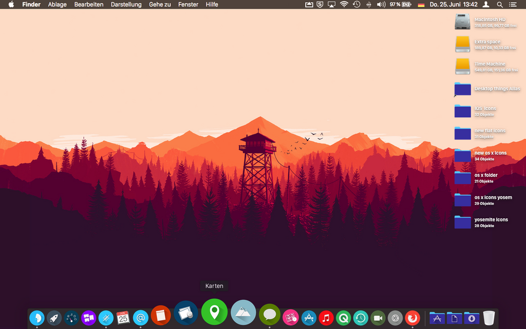OS X Yosemite Icons by janosch500
