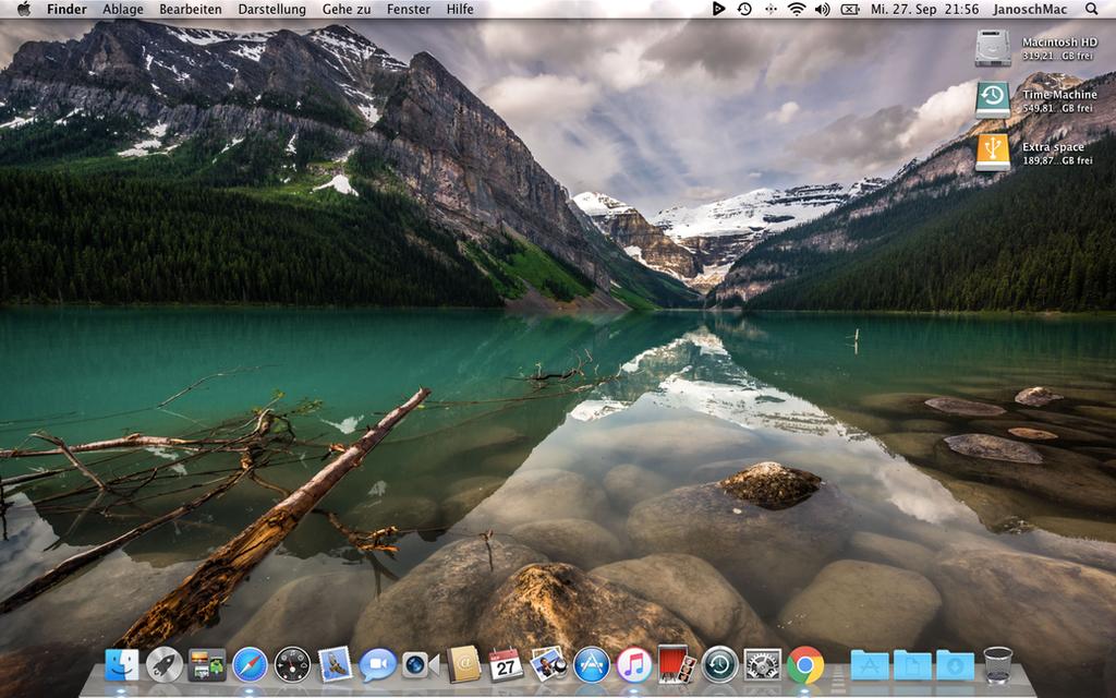 OS X Lion 10.7.5 by janosch500