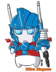 Transformers:SD  Ultra Magnus by tfylulu
