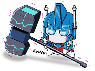 SD Ultra Magnus by tfylulu