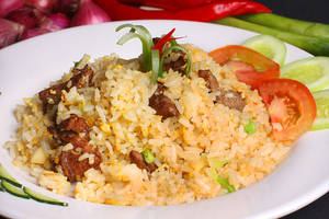 beef fried rice by okzneverbetheless