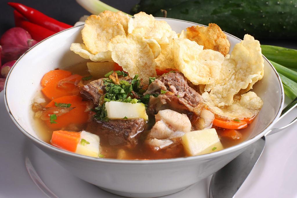 ribs soup by okzneverbetheless