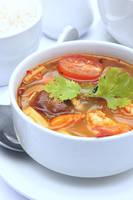 Tom Yam soup by okzneverbetheless
