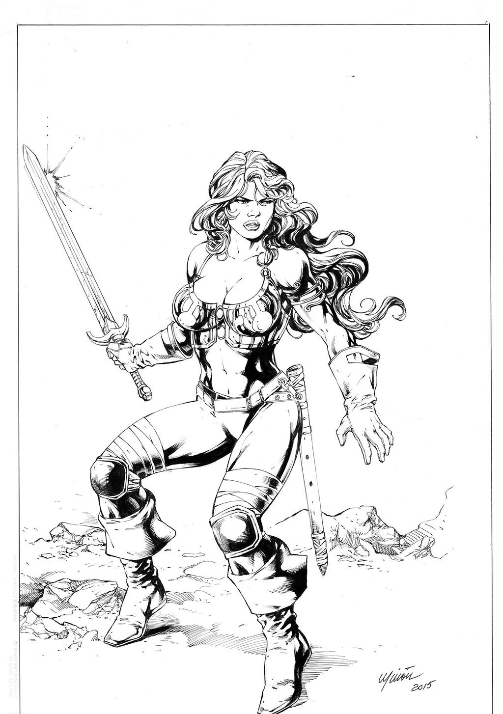 RED SONJA by aercastro82