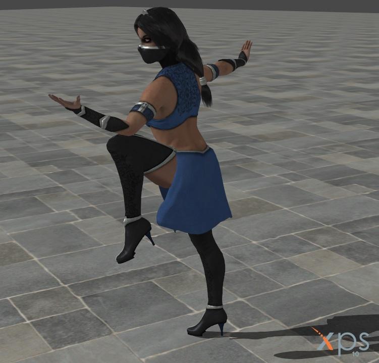 Kitana Of Mortal Kombat X By Aercastro82 On Deviantart