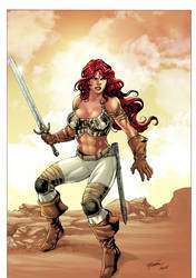 Red Sonja by Milton Estevam