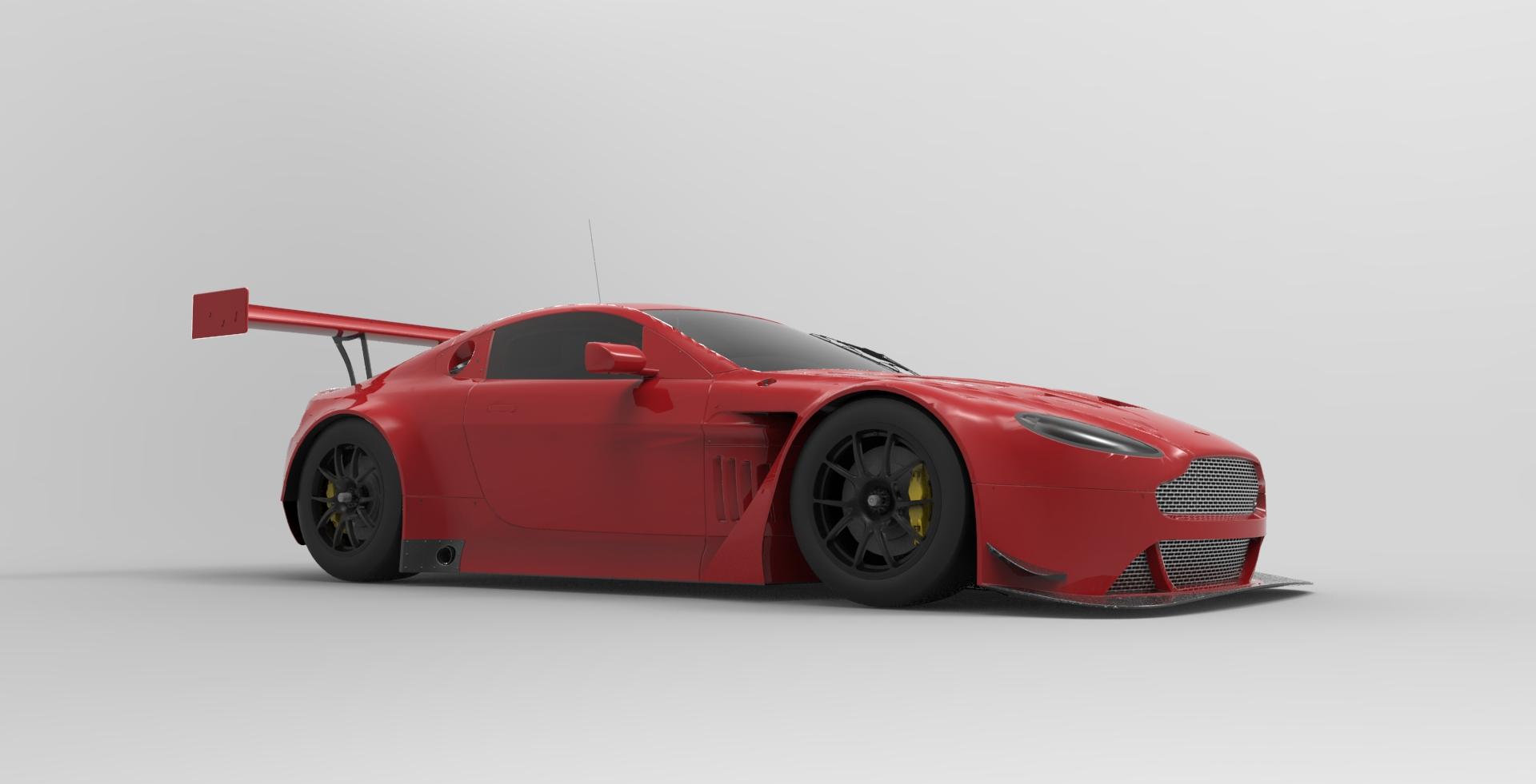 ... 2014 Aston Martin V12 Vantage GT3 By Nunca15