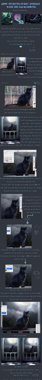 Tutorial -Animals + Background by Shinobinaku