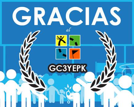 27 octubre Geocaching Event: Gracias al geocaching