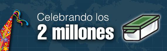 Banner 2 Million Geocaches by trushoogeo