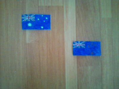 Flags of Australia. Continetal Form. by Creativeartisit