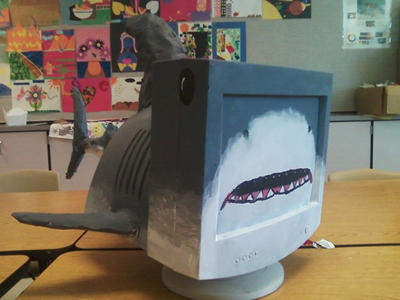 Monitor Shark. by Creativeartisit