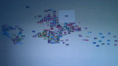 Flags of the World. Continetal Form. by Creativeartisit