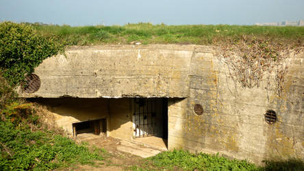 The small bunker near Fort Tourgis, 1 by Island-Child93