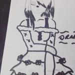 Panda sketch by Novalliez