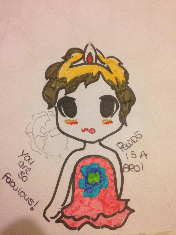 Pewdiepie Chibi drawing by Novalliez