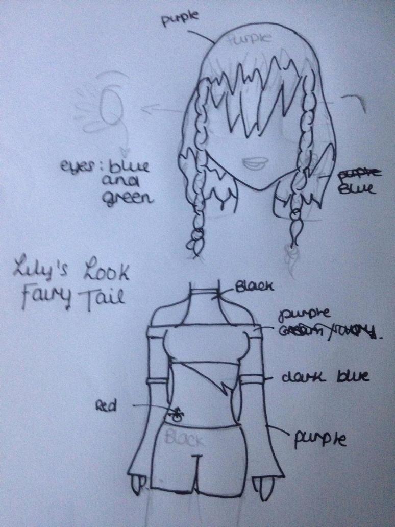 Fairy Tail Lily's Design by Novalliez