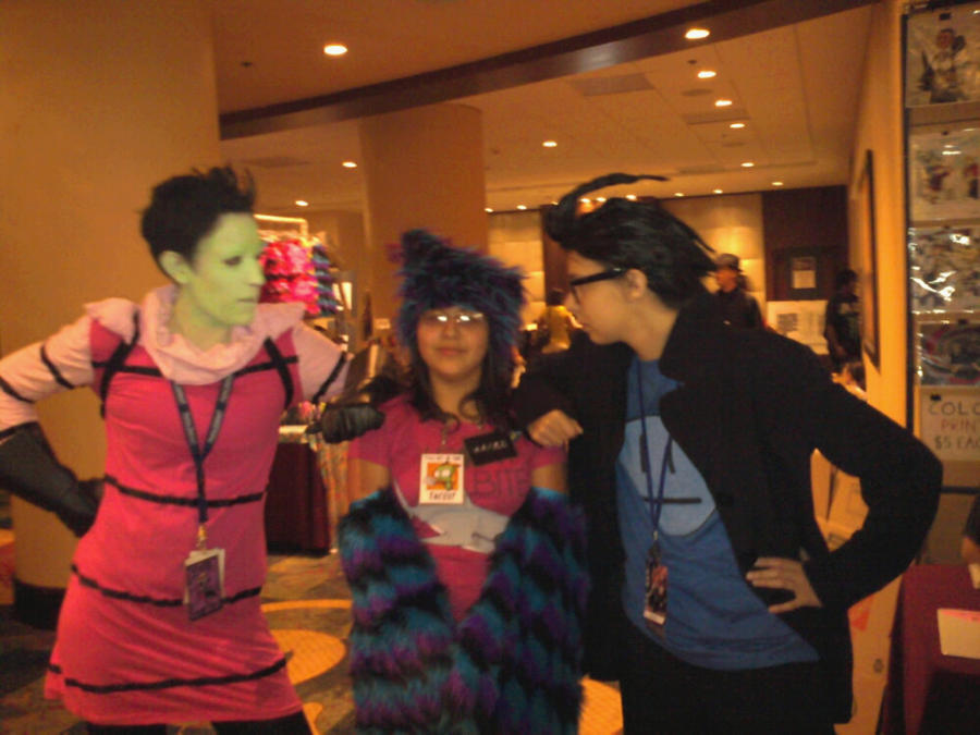 I Meet Zim And Dib Oh My Gowd By Ice Blue Fox