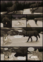 The Wolves Of Chena Page 15 by Yamis-Art