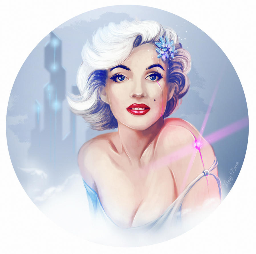 Marilyn Monroe reborn by Linsy96