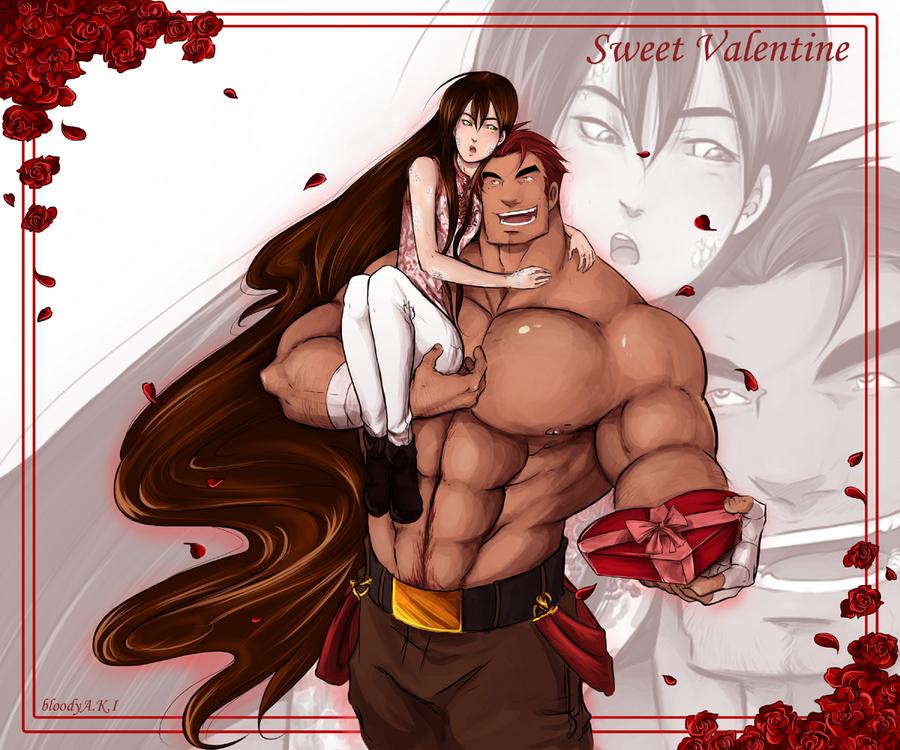 Sweet Valentine by BloodyAki