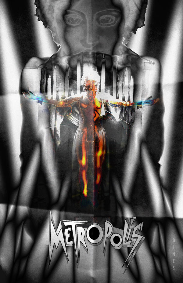 METROPOLIS:  MARIA ANDROIDAL by Dimestime