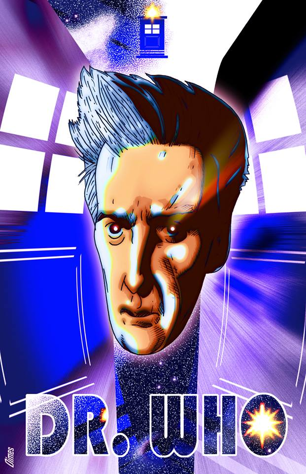 THE DOCTOR:  Peter Capaldi by Dimestime