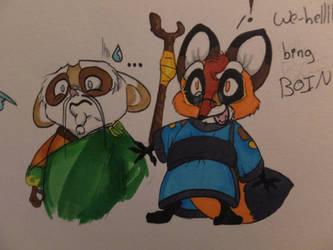 Junjie and Shifu