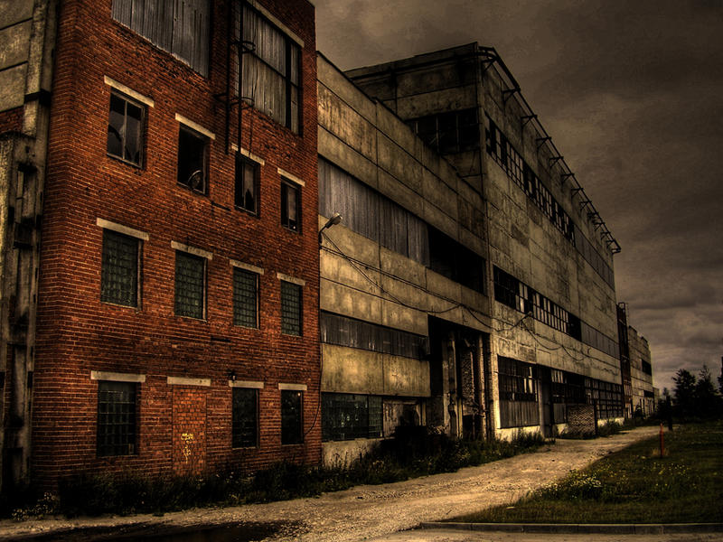 Old Abandoned Factory by 666GirL666 on DeviantArt  Old Abandoned F...