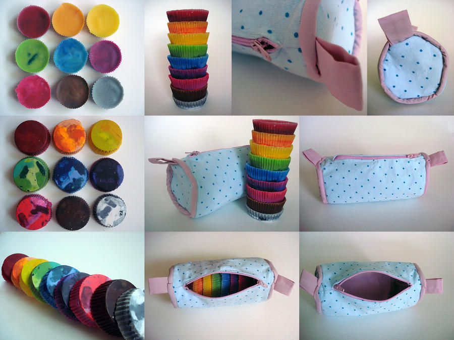 how to make a pencil case from recycled materials