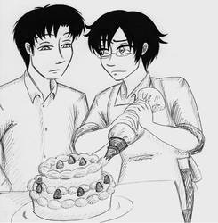 DouWata Christmas Cake by Batsu13angel