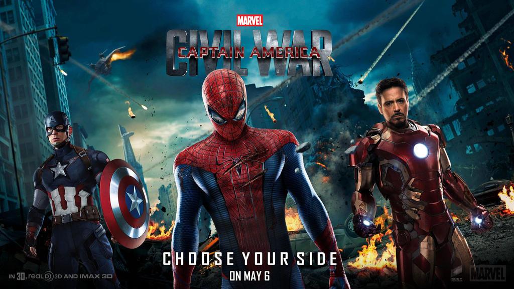 Captain America: Civil War Wallpaper Alt