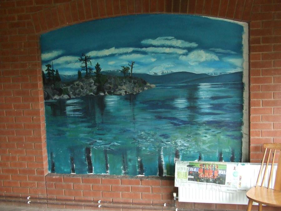 Seascape Trompe L 39 Oeil Mural By Izzy T On Deviantart
