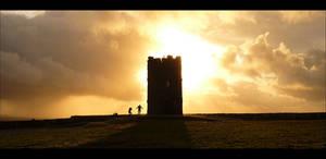 Irish Tower by DeadIrishMan