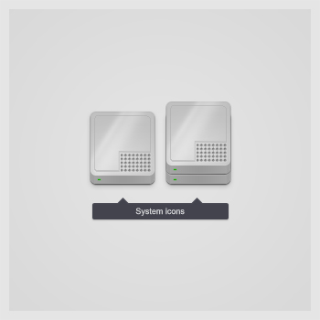 System icons by theKrisztian